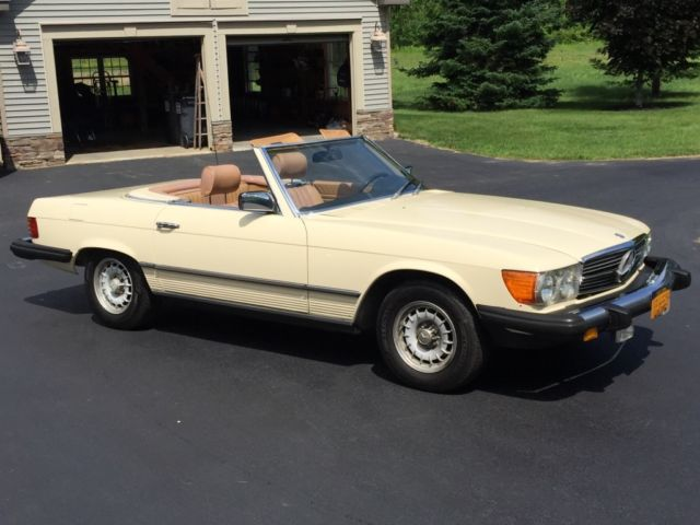 1980 mercedes benz 450sl convertible roadster classic. Black Bedroom Furniture Sets. Home Design Ideas