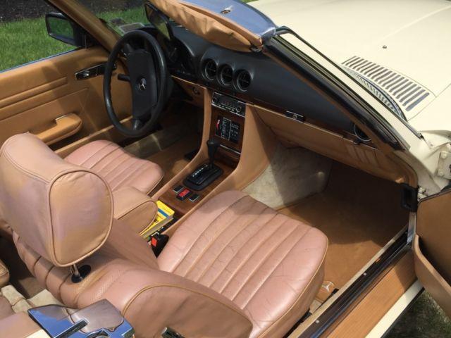 1980 mercedes benz 450sl convertible roadster classic for Mercedes benz 450sl interior parts
