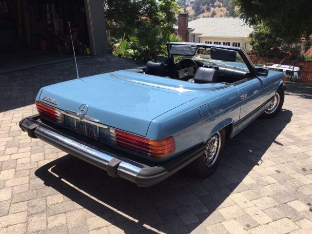 Mercedes 450 sl mercedes 450sl blue best car review for Mercedes benz dealers in st louis area