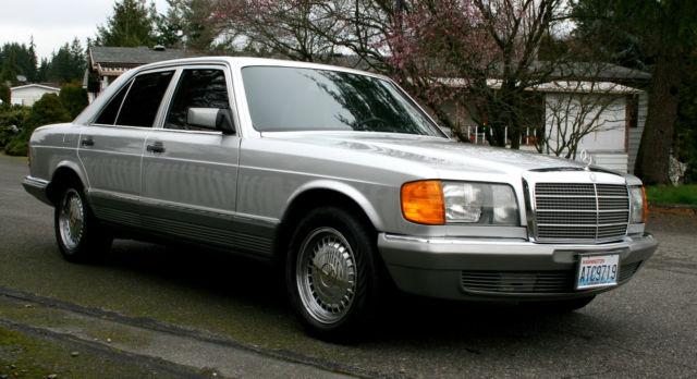 1980 Mercedes W126 280se Euro Model Classic Mercedes