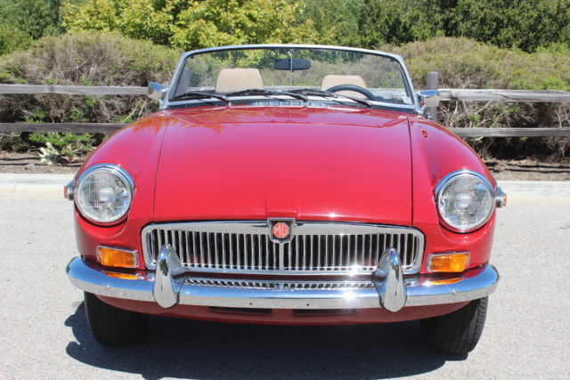 1980 mgb chrome bumper conversion fuel injection by moss for Moss motors used cars