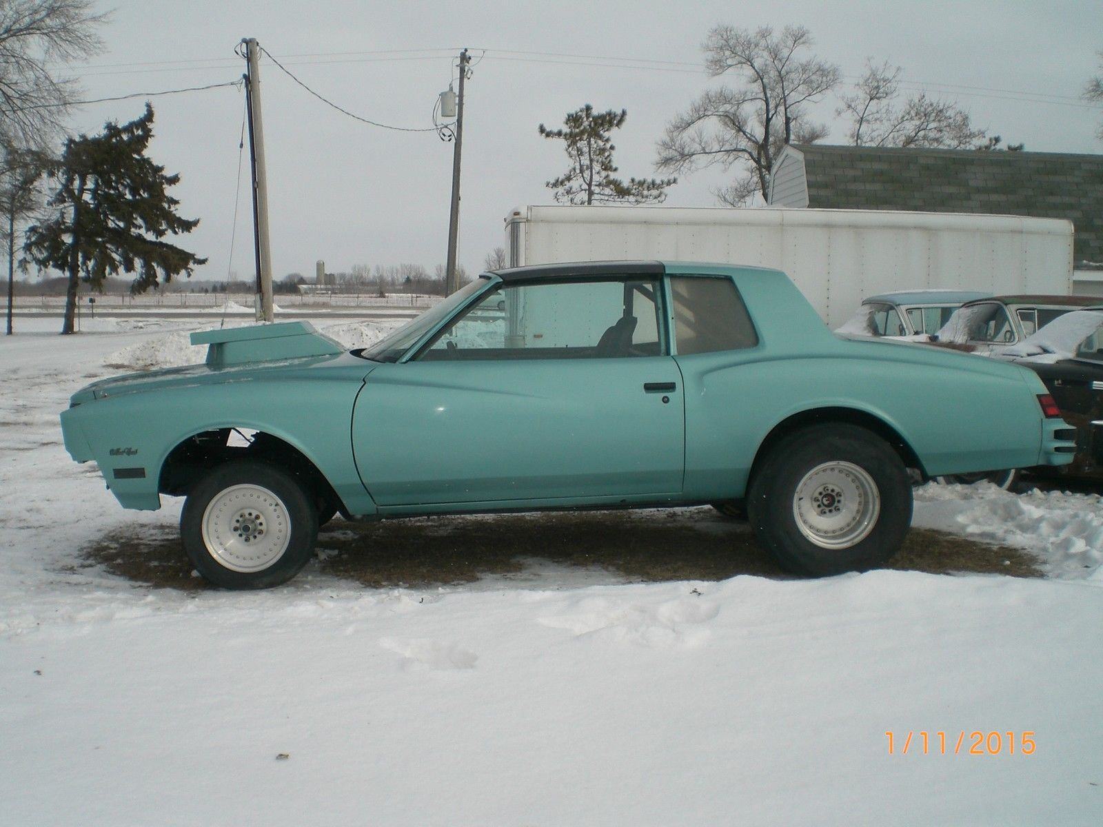 1980 monte carlo t tops set up as drag car - Classic Chevrolet Monte ...