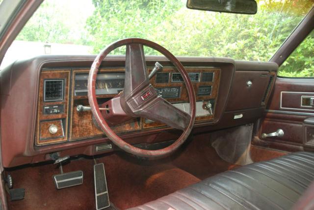 1980 Oldsmobile Delta 88 Interior