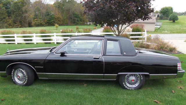 1980 Pontiac Bonneville Brougham Coupe 2 Door Classic