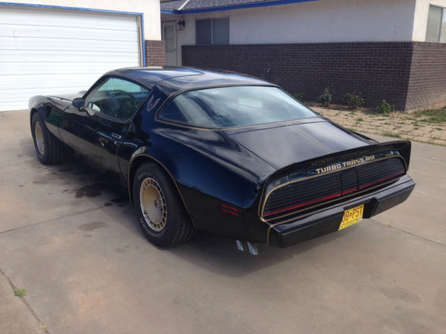 1980 Pontiac Trans Am Special Edition Turbo 4 9 Black On