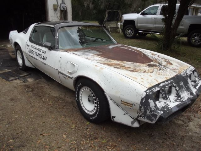 1980 Pontiac Trans Am Turbo Pace Car Numbers Matching Only 5700 Made Classic Pontiac Trans Am