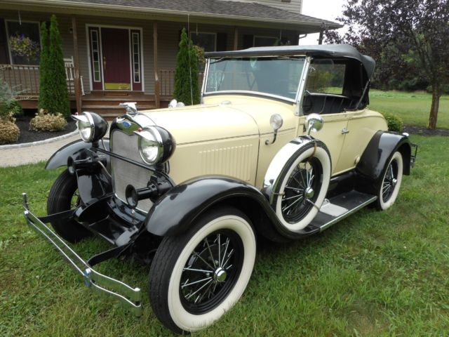 1980 Shay 1929 Model T Replica With 9 440 Miles 100