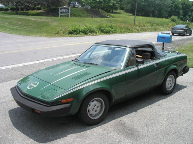 1980 Triumph Tr7 Convertible Nice Car Bad Engine