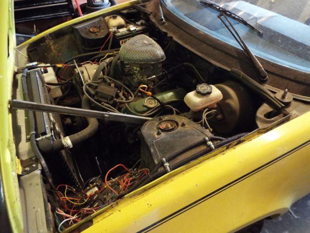 1980 Triumph TR7 V-6 Conversion Project Car - Classic Triumph TR7