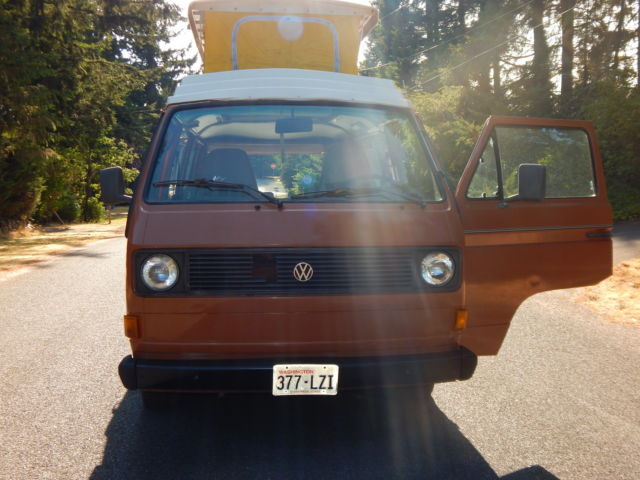 1980 Vw Camper Van With Pop Top NO Resever 2 Owner Very Nice
