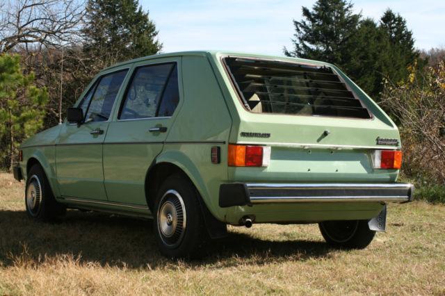 1980 vw rabbit like new 46 300 actual miles classic. Black Bedroom Furniture Sets. Home Design Ideas