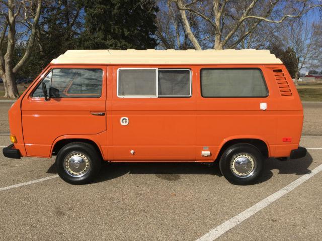 vw vanagon westfalia camper bus   miles  original interior classic volkswagen