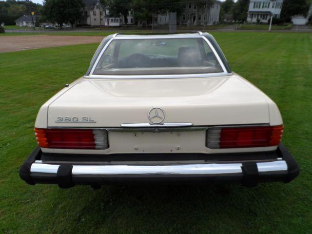 1981 380 sl for parts classic mercedes benz sl class for Mercedes benz dealer parts
