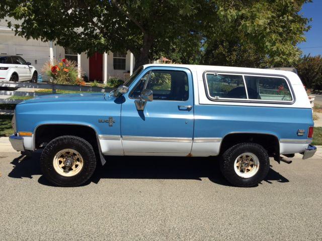 1981 Blue  U0026 White Classic K