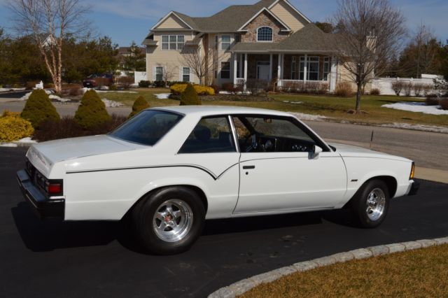 1981 Chevrolet Malibu Coupe 2 Door 327 1978 1979 1980 Gm