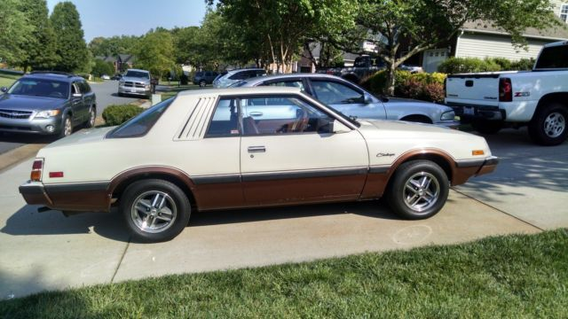 1981 Dodge Challenger Base Coupe 2 Door 2 6l Classic