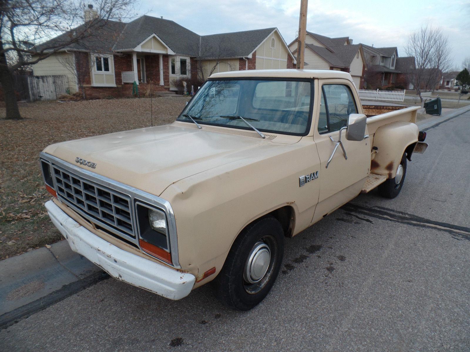 1981 dodge d250 pickup stepside classic dodge other pickups 1981 for sale. Black Bedroom Furniture Sets. Home Design Ideas
