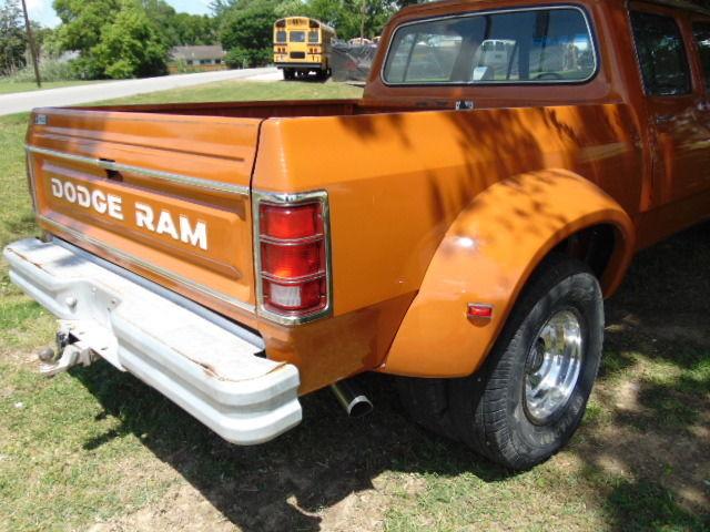 1981 DODGE RAM D350 CREW CAB SHORT BED DUALLY MEGA CAB 5.9 ...