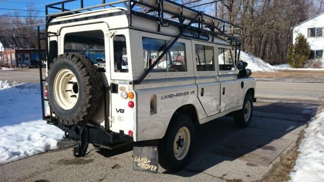 1981 Expedition Land Rover Series 3 109 v8 (STAGE ONE ...