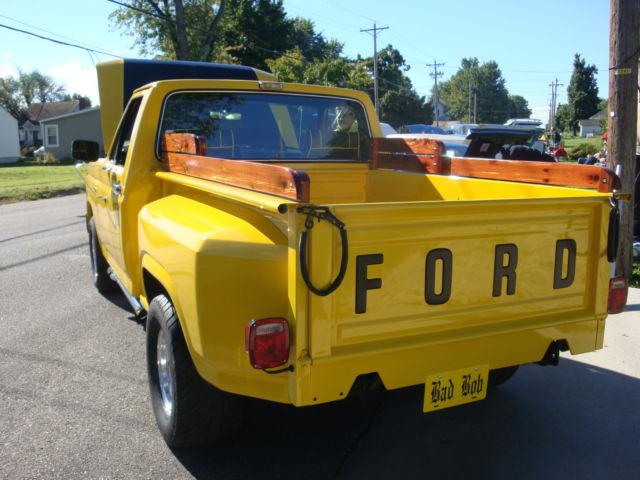 Ford F Stepside Truck Frame Off Restoration Motor C Automatic