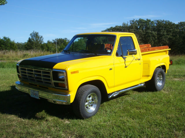 1981 Ford F 100 Stepside Truck Frame Off Restoration