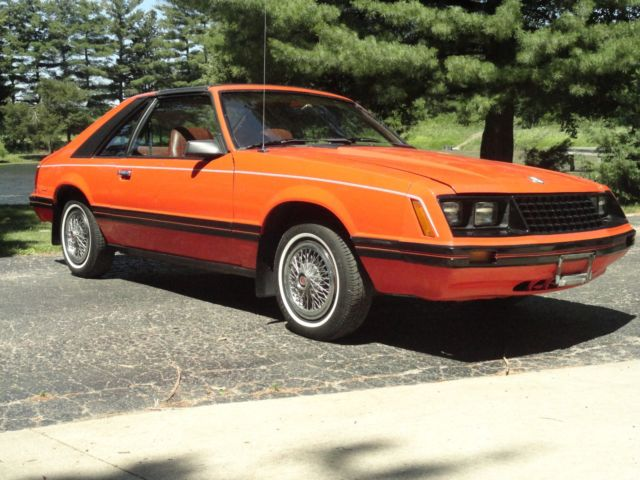 1981 Ford Mustang T Top 2 3 4 Cyl 4 Speed Manual Fox Body