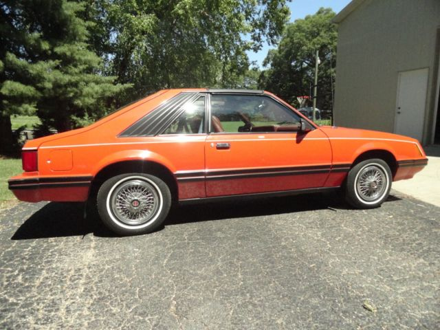 1981 ford mustang t top 2 3 4 cyl 4 speed manual fox body. Black Bedroom Furniture Sets. Home Design Ideas