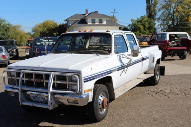 1981 Gmc K30 4 Door Crew Cab 4x4 Dana 60 1 Ton 454 A T