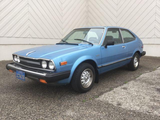1981 Honda Accord Coupe