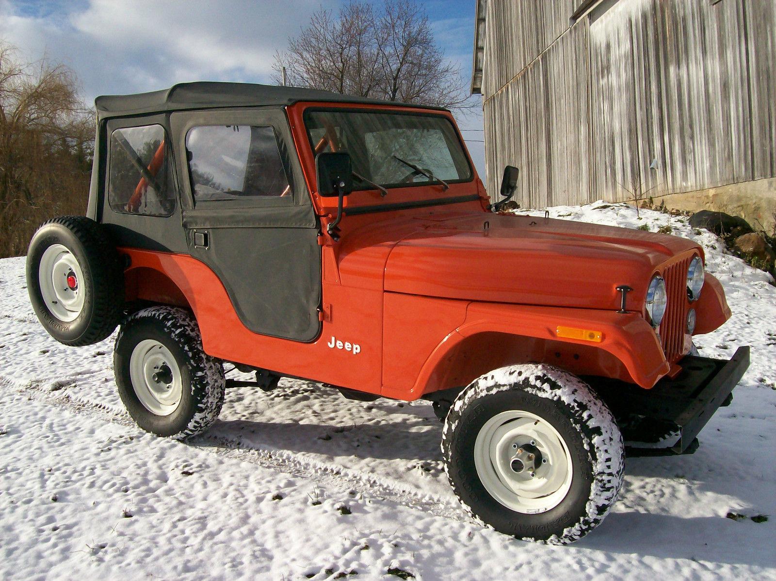 1981 Jeep Cj5 Low Mileage Clean Survivor Must See