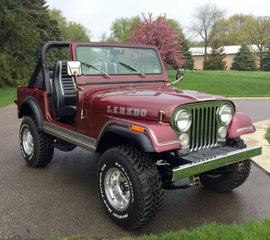 1981 jeep cj7 laredo all original classic jeep cj 1981 for sale. Black Bedroom Furniture Sets. Home Design Ideas