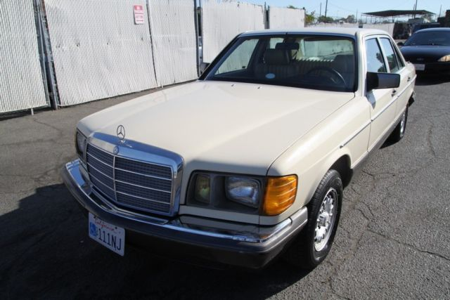 1981 mercedes benz 300sd turbo diesel automatic 5 cylinder for Mercedes benz 5 cylinder diesel engine