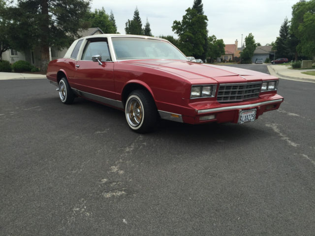 Cars Of Clovis >> 1981 Monte Carlo Low rider on REAL GOLD Daytons Not cut up CANDY RED - Classic Chevrolet Monte ...
