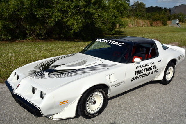 1981 Pontiac Firebird Trans Am Daytona 500 Pace Car