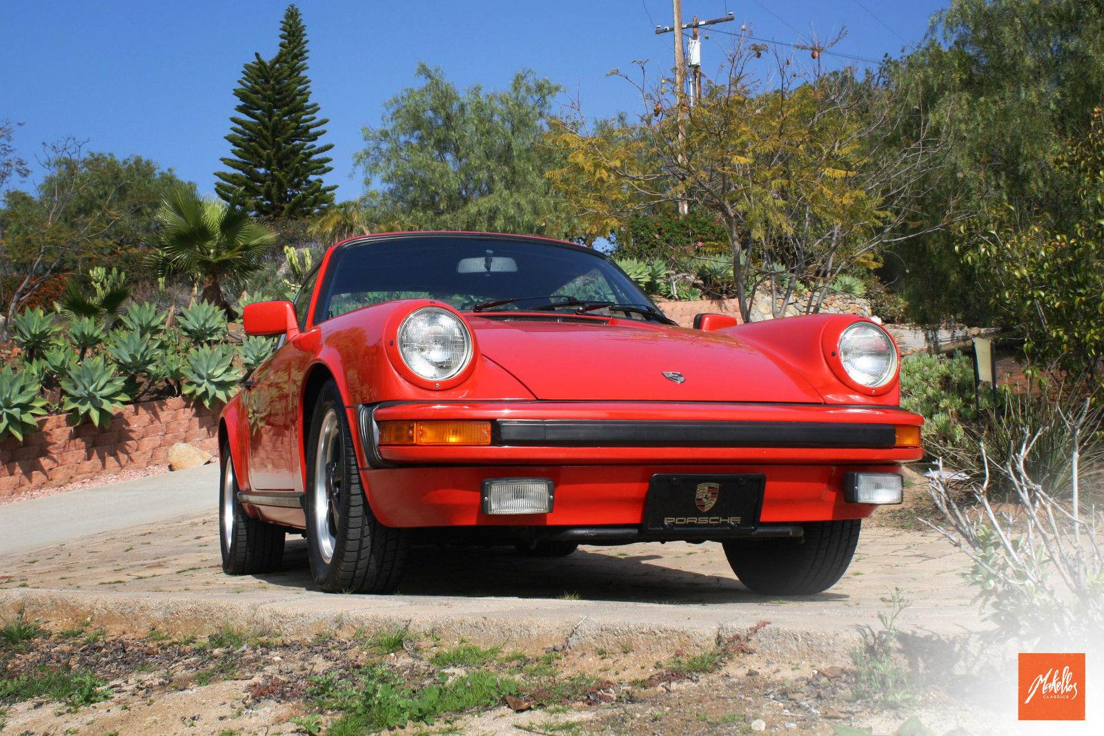 1981 Porsche 911 SC Targa 2 Door 3.0L Classic Porsche 911 1981 for  #B32018