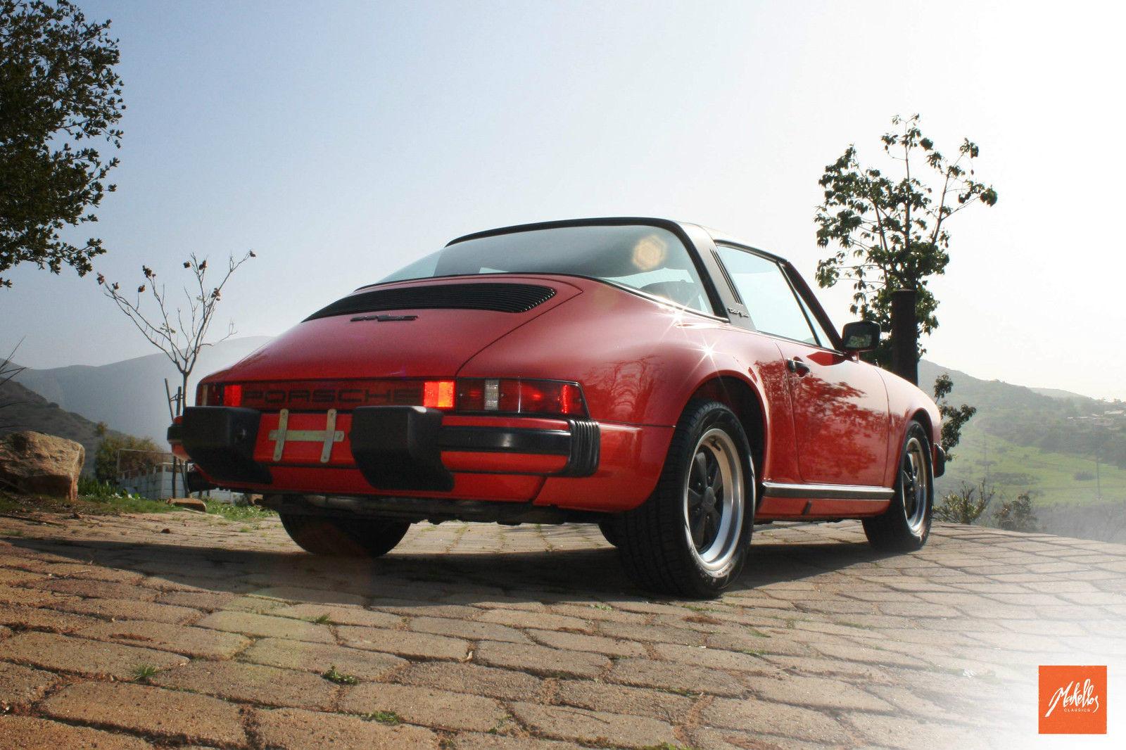 1981 Porsche 911 SC Targa 2 Door 3.0L Classic Porsche 911 1981 for  #BD3E0E