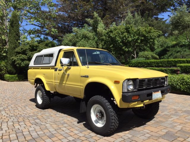 1981 toyota 4x4 pickup truck classic toyota other 1981 for sale. Black Bedroom Furniture Sets. Home Design Ideas