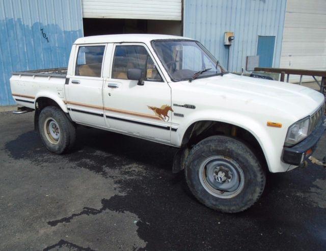 1981 toyota hilux diesel crew cab pickup truck australian rhd ln46 not sr5 fj40 classic toyota. Black Bedroom Furniture Sets. Home Design Ideas