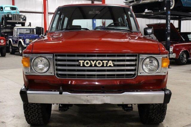 1981 toyota land cruiser 148224 miles freeborn red suv 4 2 liter inline 6 4 spe classic toyota. Black Bedroom Furniture Sets. Home Design Ideas