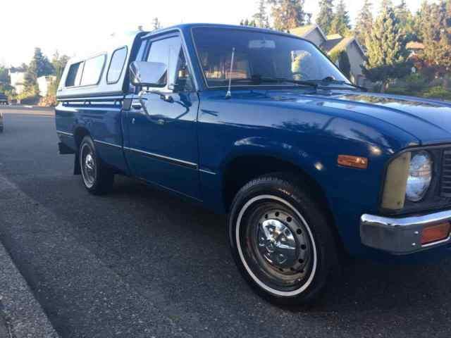 1981 toyota pickup truck diesel excellent condition classic toyota diesel pickup truck 1981. Black Bedroom Furniture Sets. Home Design Ideas