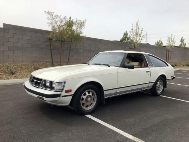1981 Toyota Supra Celica Supra All Stock Original