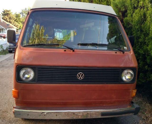1981 volkwagen westfalia vanagon bus vw bus camper van for sale classic volkswagen bus. Black Bedroom Furniture Sets. Home Design Ideas