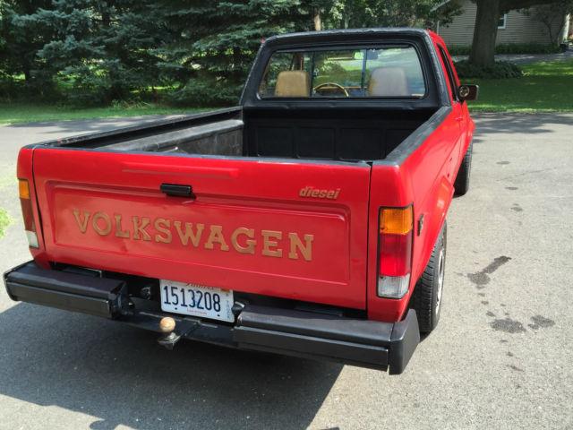 1981 vw rabbit caddy diesel pickup classic volkswagen rabbit 1981 for sale. Black Bedroom Furniture Sets. Home Design Ideas