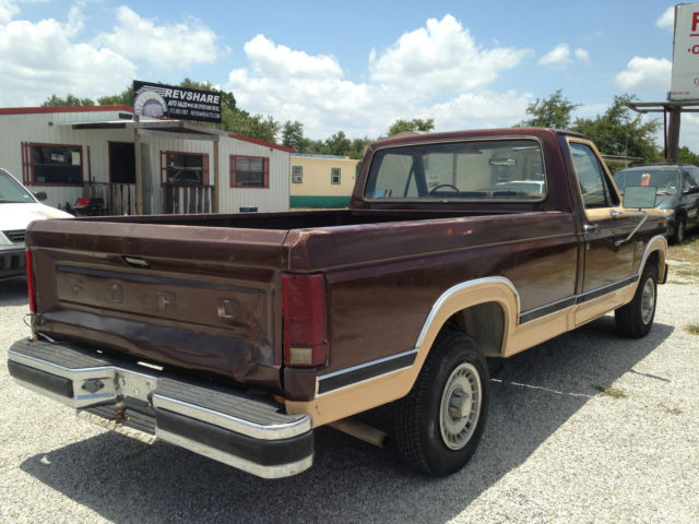1982 82 ford f 150 2wd reg cab 302 auto long bed unmolested original cold ac classic ford f. Black Bedroom Furniture Sets. Home Design Ideas