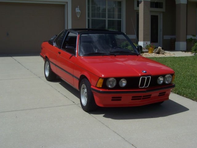 1982 BMW 320/6 E21 EURO MODEL BAUR (next 02?) - Classic BMW 3-Series ...