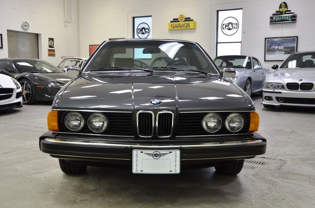1982 Bmw 633 Csi Coupe Manual M6 635 Time Capsule Very Low