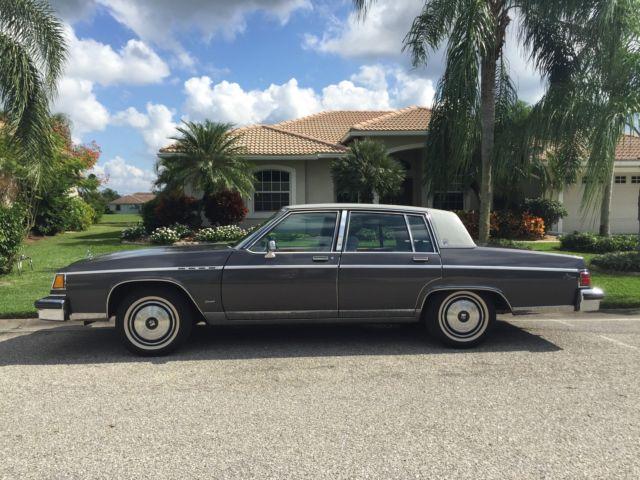Sarasota Classic Cars >> 1982 Buick Electra Park Avenue diesel - Classic Buick Electra 1982 for sale