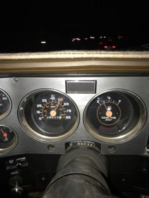 1982 Chevrolet Chevy K5 Blazer 4x4 62l Banks Turbo Diesel With 30k