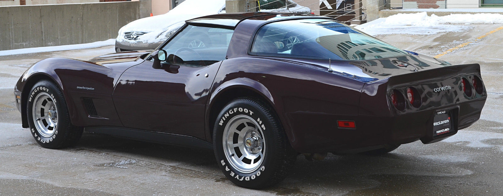 1982 Chevrolet Corvette Stingray Dark Claret Metallic