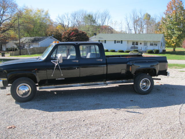 Used Chevy Trucks For Sale >> 1982 Chevrolet K30 Silverado Crew Cab Pickup 4-Door 7.4L ...